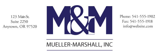 Marshall and Mueller Inc.